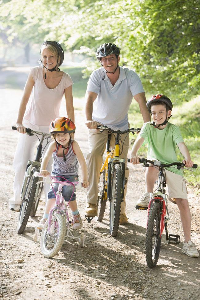 fahrradfamilie